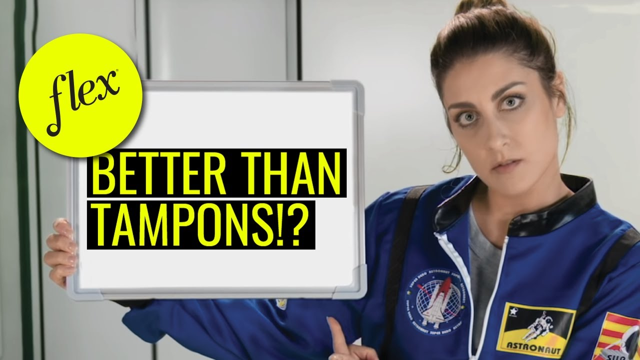 Download How many tampons do you need in space? The answer is zero   TV Commercial   The Flex Co.