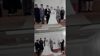 살다7년만에 29세에 한 결혼식 본식사진