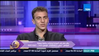 """عسل أبيض - بطل مصر فى السباحة عمر عيسى عن مثله الأعلى فى السباحة """"لازم أكون أحسن من أى حد"""""""