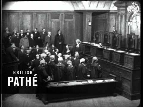 "The Wonderful Old Bailey Scene From ""The Balance"" - The Great Strand Theatre Drama (1922)"