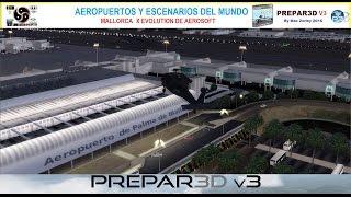 [P3D V3] Evaluando Mallorca X Evolution (LEPA) de Aerosoft