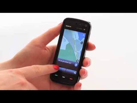 Nokia 5800 ExpressMusic - opsætning til navigation