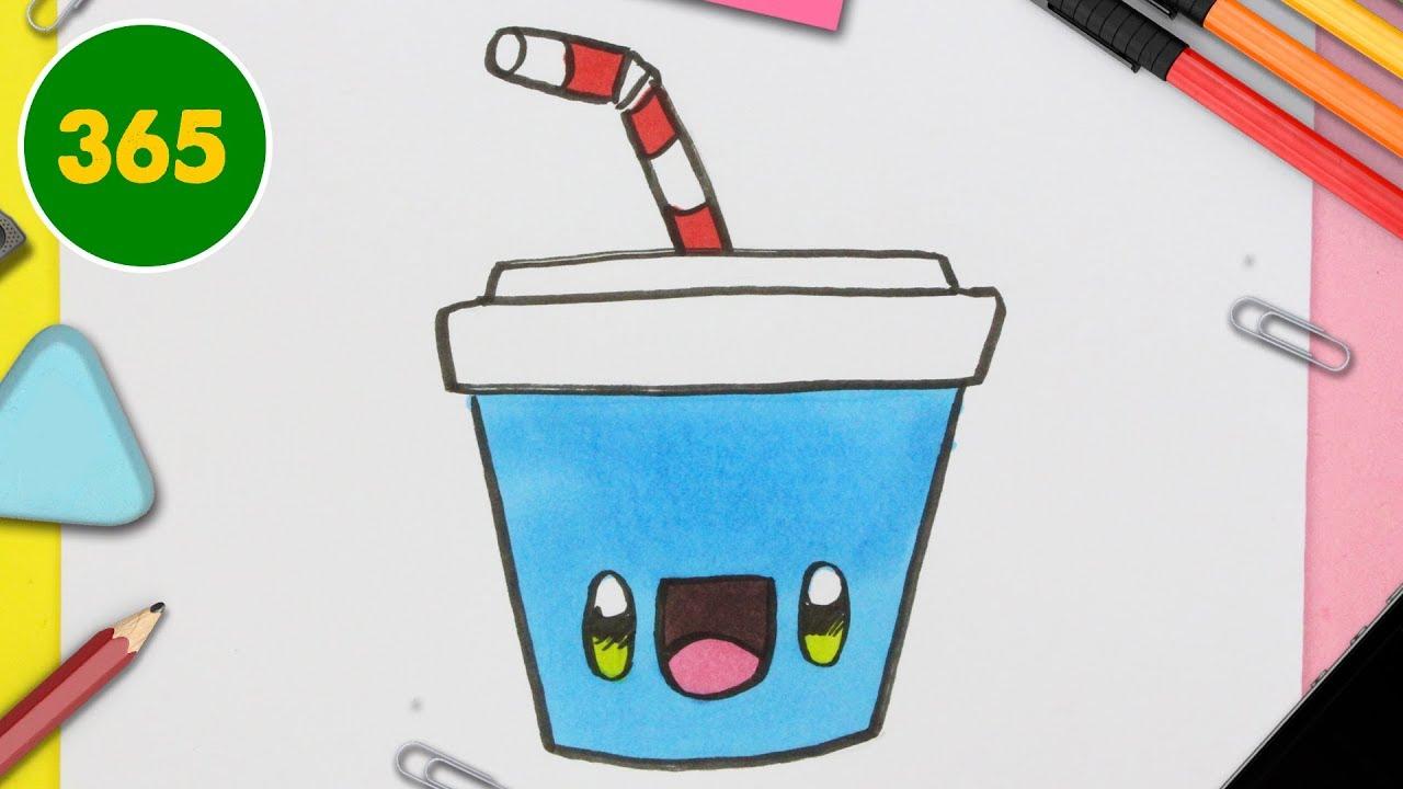 Comment Dessiner Soda Kawaii Pas A Pas Dessins Kawaii Facile Youtube