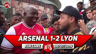 Arsenal 1- 2 Lyon | Kroenke Is Spending Because Of The Fans! (Troopz)