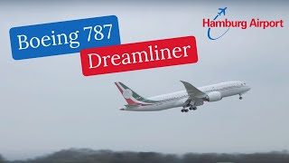 Boeing 787 Dreamliner | Landung & Takeoff am Hamburg Airport