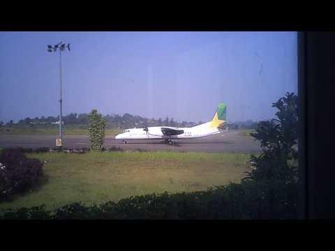 Arrivee du MA60 Camair-Co Aeroport Bafoussam