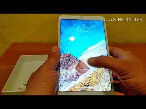 Xiaomi Mi Pad 4,  распаковка