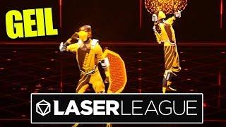 Übertrieben GEIL 🔫 Laser League Gameplay Deutsch 🔫 baastiZockt