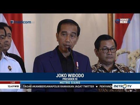 Soal Kerusuhan di Mako Brimob, Jokowi: Tak Ada Ruang Bagi Terorisme