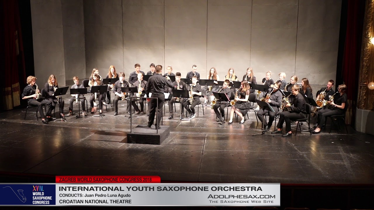 6   Youth Saxophone Orchestra   XVIII World Sax Congress 2018 #adolphesax