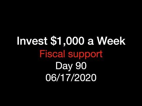Invest $1,000 a Week - Fiscal Support - Week 19, Day 90из YouTube · Длительность: 1 мин56 с
