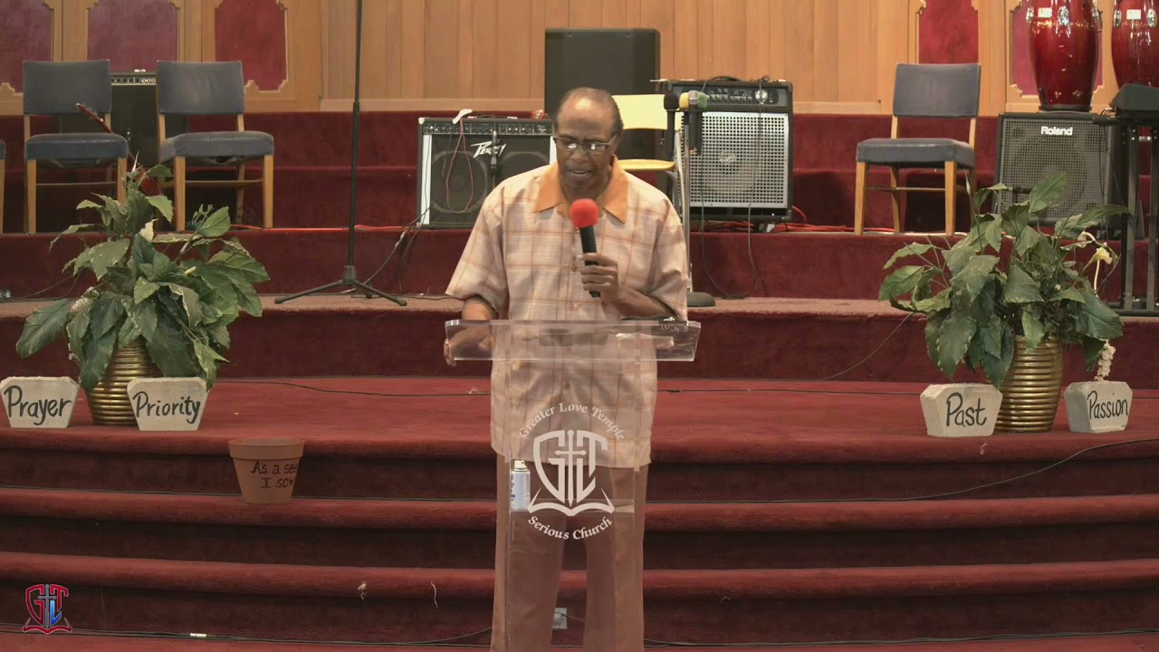 Your Position Is In Your Opposition   Bishop J.G. Riles   GLT Ministries