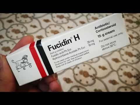 Fucidin H Best Cream For Face Skin After Wax Facial Redness And Pimples Best For Skin Allergies Youtube
