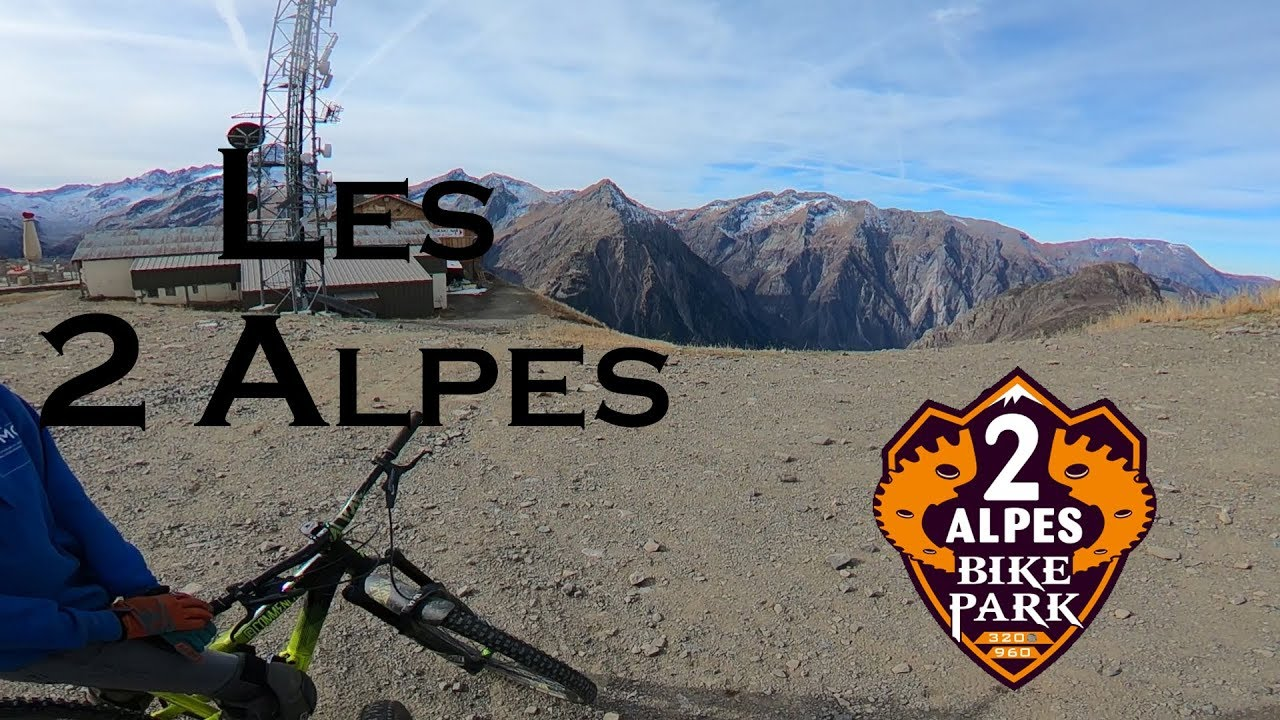 "Les 2 Alpes Bike Park ""Enjoy the last ride"" / With Louis Salaun and Grégoire Mahon / Diable & Lilith"