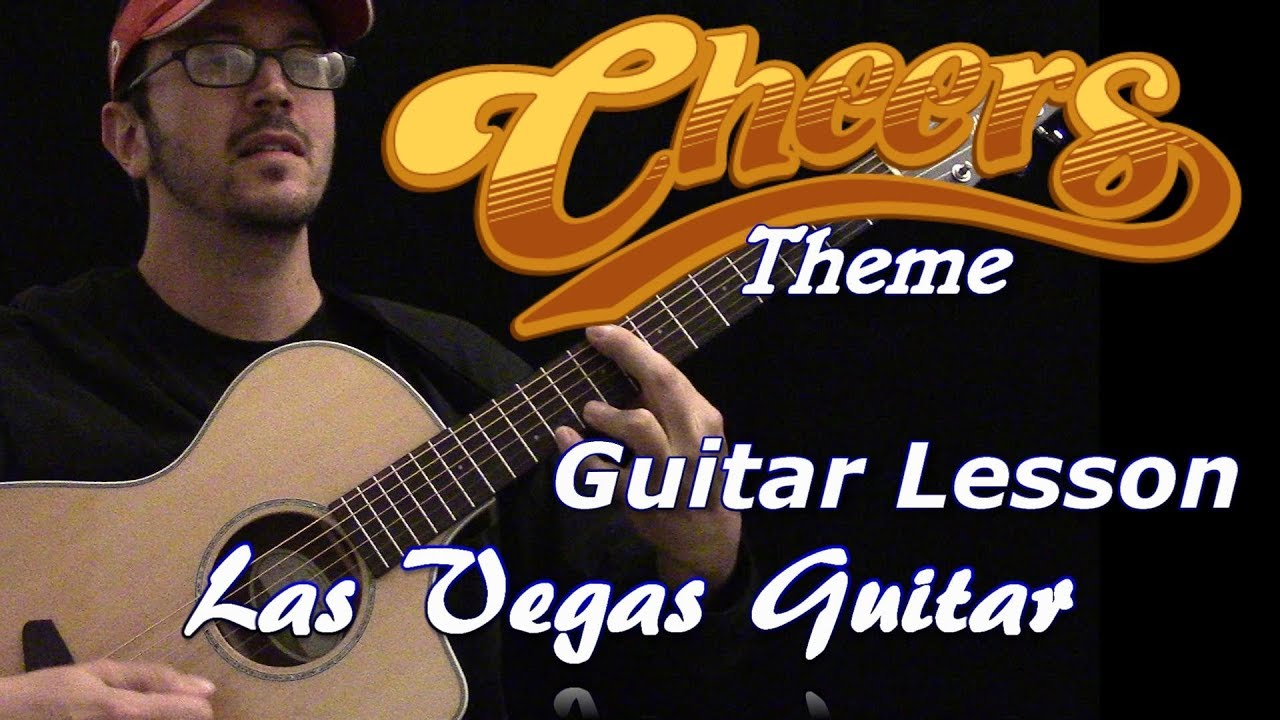 Cheers Theme Guitar Lesson Youtube