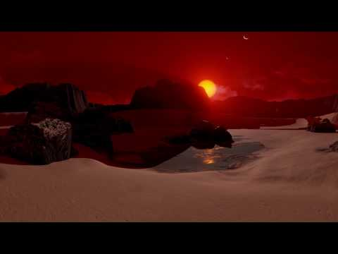 NASA VR: On the Surface of Planet TRAPPIST-1d (360 view)