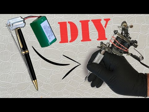 HOW TO MAKE A MINI TATTOO GUN / TATTOO MACHINE  | TUTORIAL
