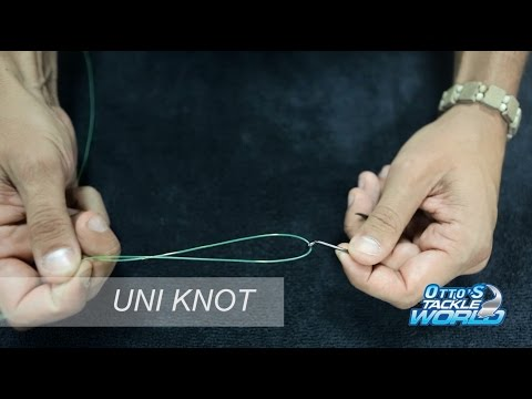 Easy Fishing Knots - How to tie a Uni Knot