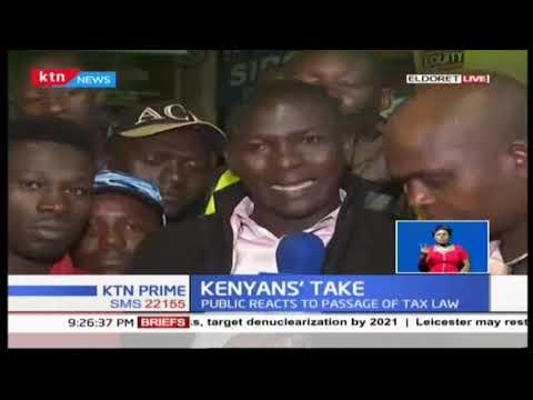 Eldoret residents react to paying 8 percent tax on fuel