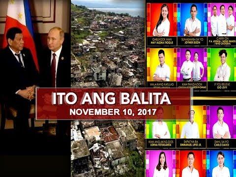 UNTV: Ito Ang Balita (November 11, 2017)