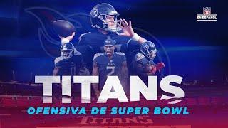 Titans, ofensiva de Super Bowl con Julio Jones | NFL en Español