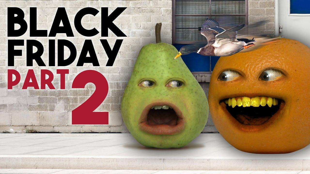 Annoying Orange Black Friday Day 2 Ask Orange Youtube