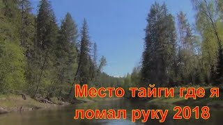 Девственная Тайга 2018 Тишина Покой Тайги Сибирь Места тайги где я ломал руку рыбалка 2018 охота