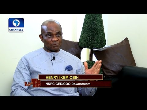 View Frop the Top Features NNPC GED/Coo Downstream, Henry Ikem Obih