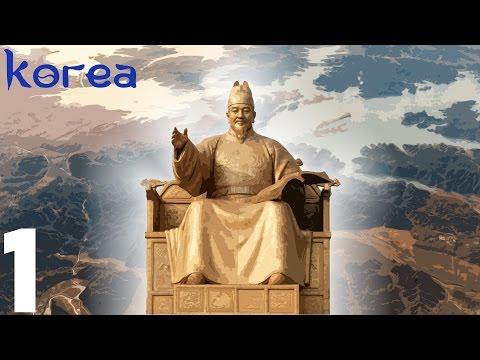 """EU4 - Korea 1 """"The Great King Sejong"""""""
