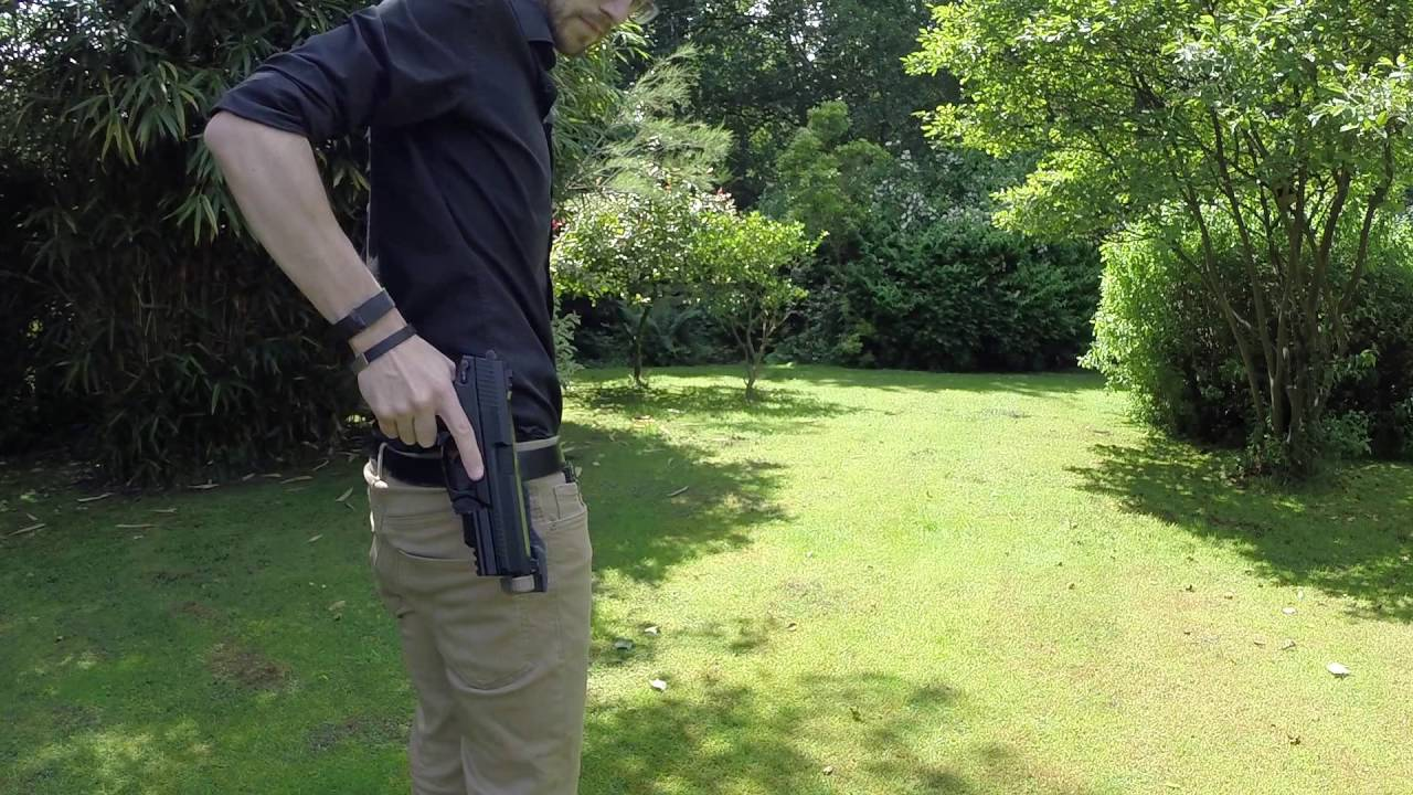 Double Tap Designs mk23 Retention Holster Test