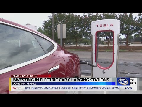 VIDEO: Investing in Electric Car Charging Stations