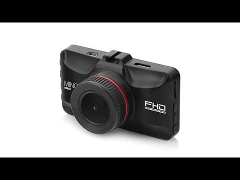 Minolta 1080p Full HD Dash Cam With Accessories