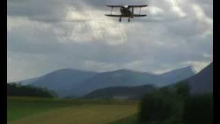 Beechcraft staggerwing Top Flite