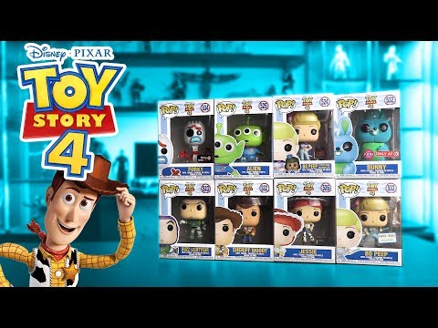 NEW Toy Story 4 Funko Pop EXCLUSIVES