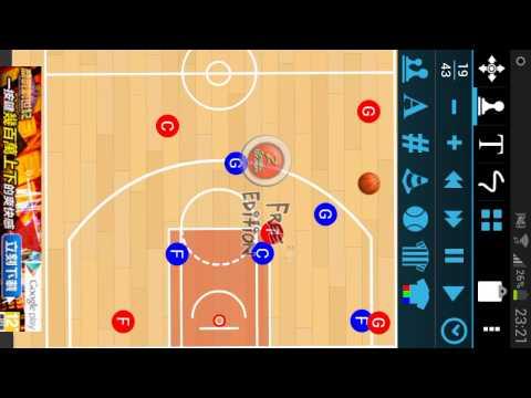 Triangle Offense swing to corner)(2 1 2 zone defense)