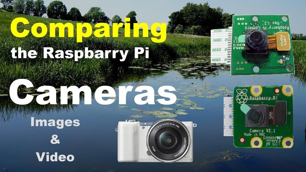 Comparing Raspberry Pi Cameras - A visual experience