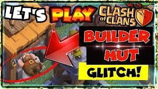 BUILDER HUT GLITCH in Clash Of Clans & Builder Base! - Let's Play - CoC 6th Anniversary Update HACK