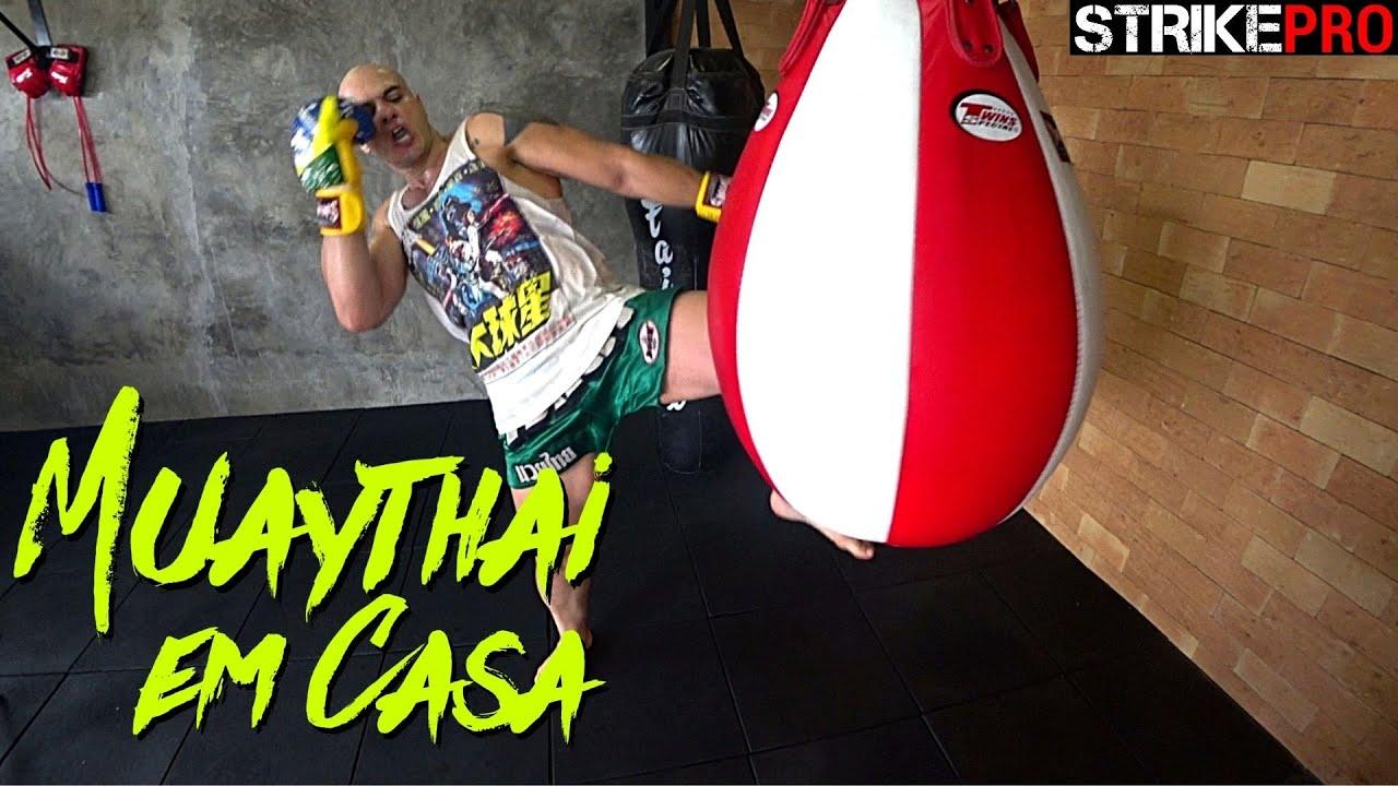 As três formas de bater a joelhada 🥊 Muay Thai em Casa