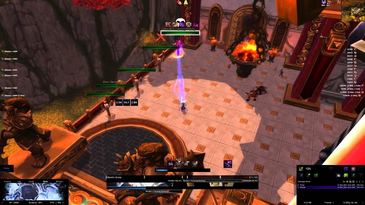 5 3 Warlock UI - WeakAuras