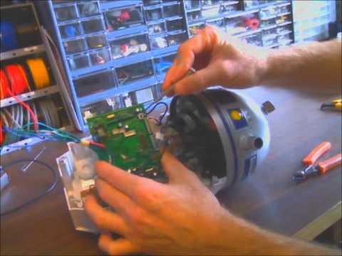 Disassembling the Hasbro Interactive R2-D2.wmv