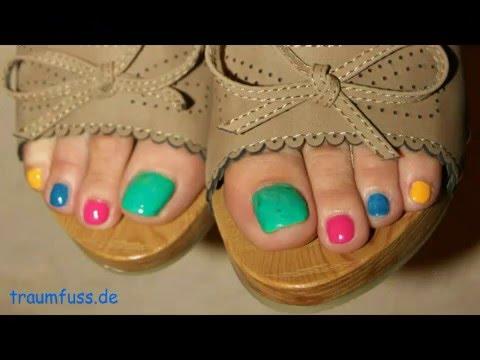 sexy feet and soles keilpantoletten bunte n gel posing youtube. Black Bedroom Furniture Sets. Home Design Ideas