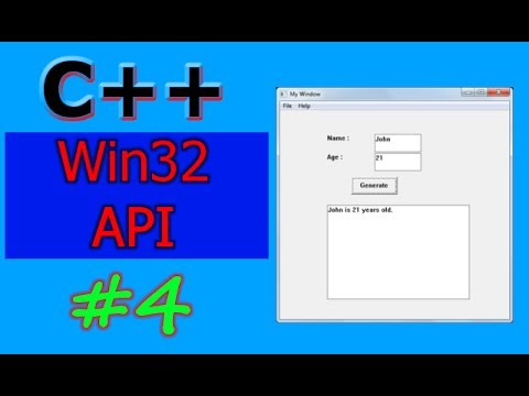 Windows GUI Programming with C/C++ ( Win32 API ) | Part -4 | Button Control  and Demo Application