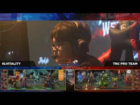 TNC.Pro Team vs I.G Vitality GrandFinals Game 3 BO3 Dota2 All Star Weekend