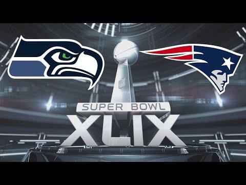 Super Bowl XLIX Seattle Seahawks vs New England Patriots 2015 Madden 15