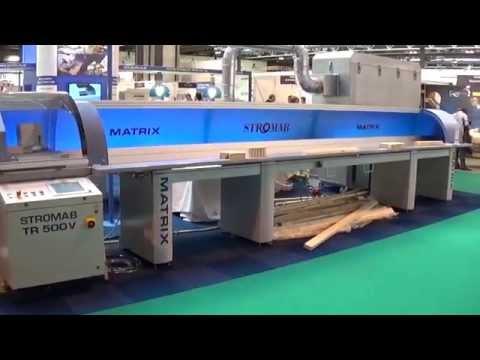 Stromab Matrix Fast500 High Speed Automatic Cross Cutting Saw