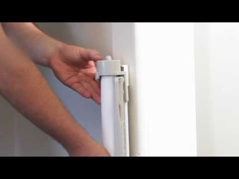 Bindaboo Retractable Pet Gate Installation Video Youtube