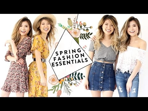 2017 Spring Fashion Essentials Guide with FashionbyAlly | 2017 Spring Fashion Trends | Miss Louie