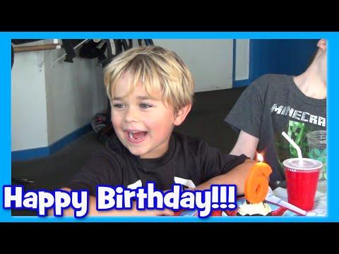 Happy Birthday Auto - Presents, Party and Lazer Tag!