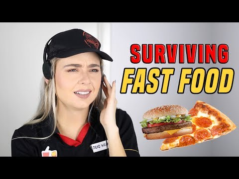 Working In Fast Food Be Like...