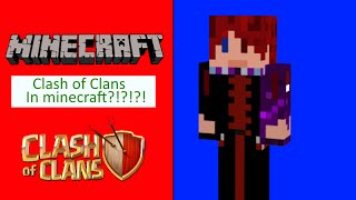 Clash of Clans in minecraft!!!! Craft of Clans server